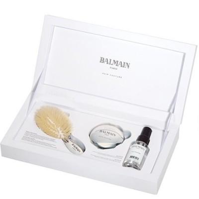 Набор SPA mini щетка серебро Balmain Франция — фото №1