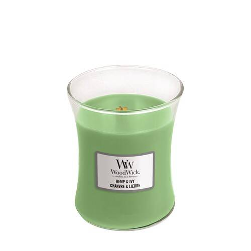 Свеча Hemp & Ivy Wood Wick Англия 275 гр(р) — фото №1