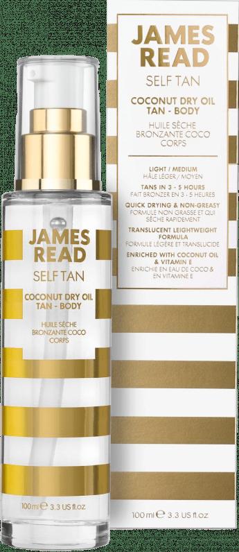 Сoconut Dry Oil Tan – Body Сухое кокосовое масло с эффектом загара James Read Англия 100 мл(р) — фото №1