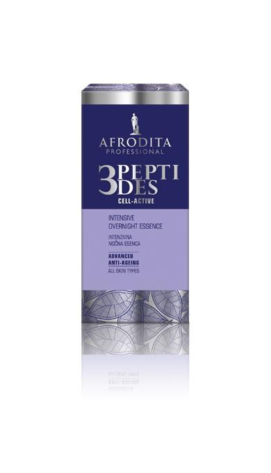 Сыворотка 3 PEPTIDES night repair 30 мл Afrodita Словения — фото №1
