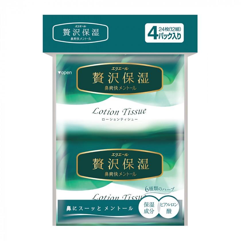 Платочки бумажные fresh lotion Япония — фото №1