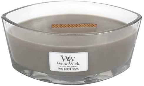 Свеча Ellipse Sand & Driftwood Wood Wick Англия 453 г(р) — фото №1