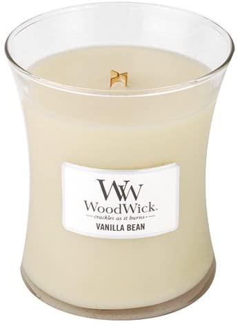 Свеча Medium Vanilla Bean Wood Wick Англия 275 гр(р) — фото №1