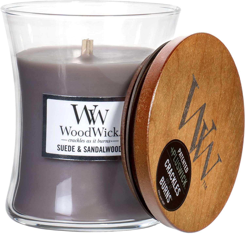 Свеча Sueded Sandalwood Wood Wick Англия 275 гр(р) — фото №1