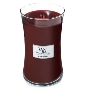 Свеча Large Black Cherry Wood Wick Англия 609 г(р) — фото №1