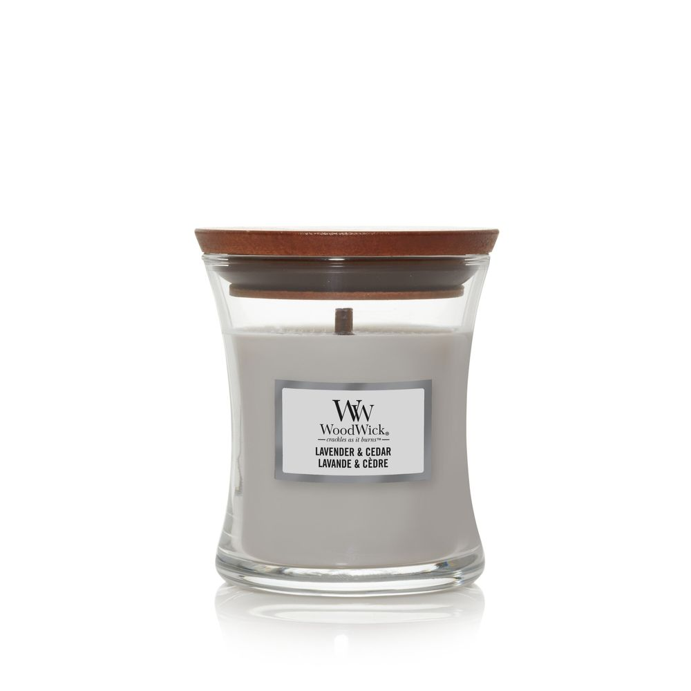 Свеча Lavender & Cedar Wood Wick Англия 275 гр(р) — фото №1