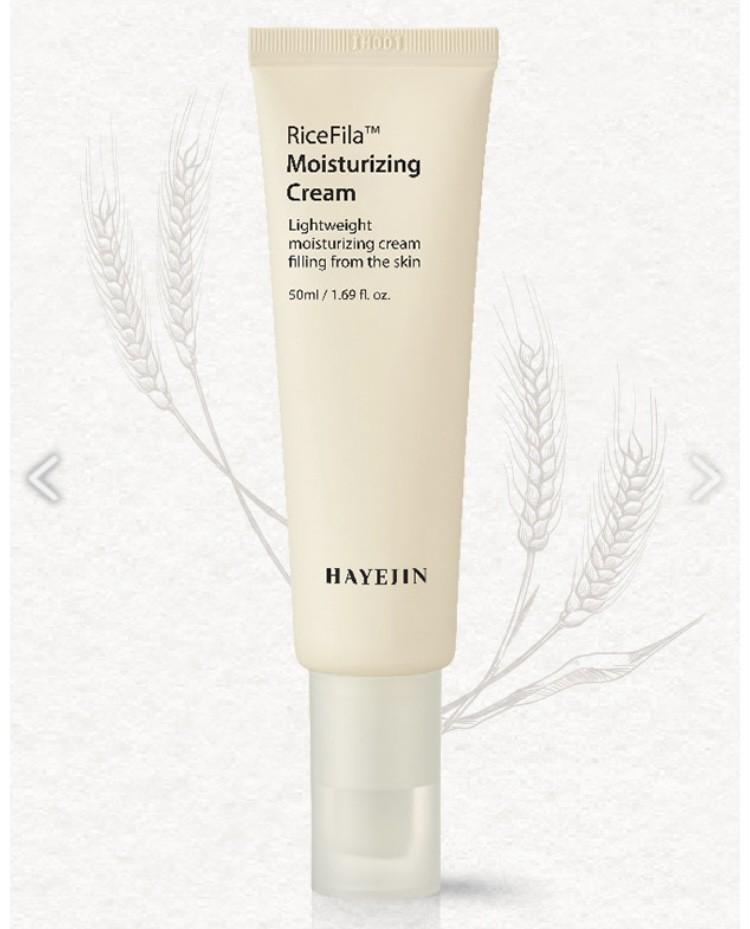 Крем RiceFila TМ Moisturizing Cream зволожуючий HAYEJIN Корея 50 мл(р) — фото №1