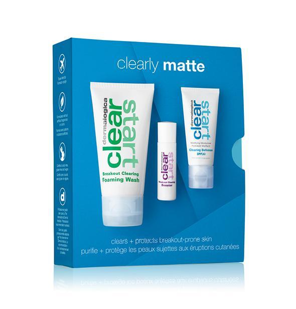 Набор очищение и защита для проблемной кожи Clearly Matte Kit Dermalogica Англия 1 уп(р) — фото №1