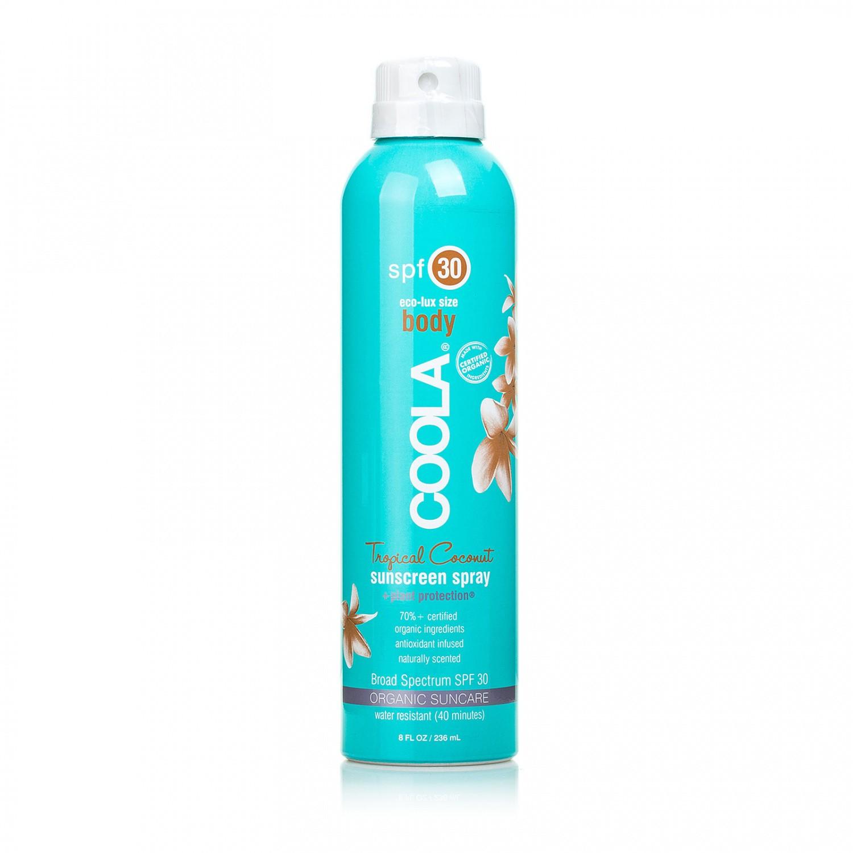 Спрей защитный COOLA SUNCARE SPF30 Tropical Coconut Coola USA 236 мл(р) — фото №1