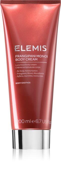 Крем для тела Франжипани-Монои Frangipani Monoi Body Cream Elemis Англия 200 мл(р) — фото №1