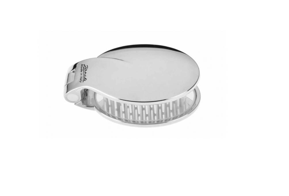 Расческа серебро с зеркалом Janeke Италия — фото №1