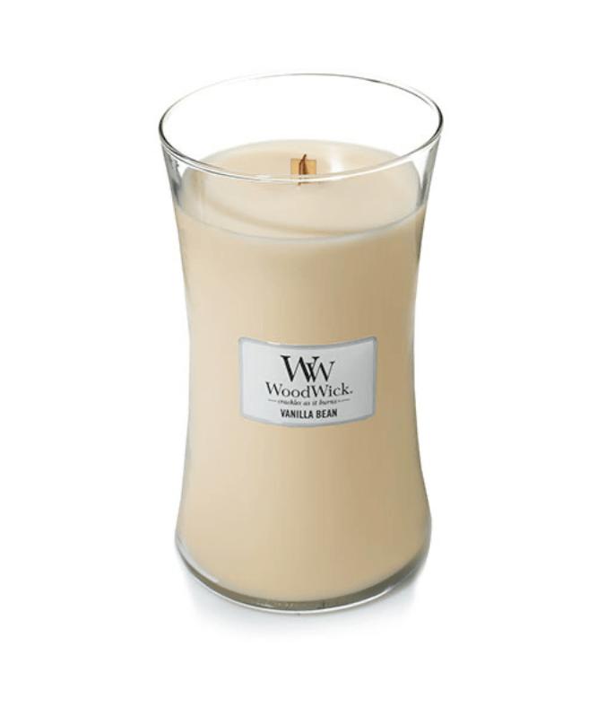 Свеча Large Vanilla Bean Wood Wick Англия 609 г(р) — фото №1