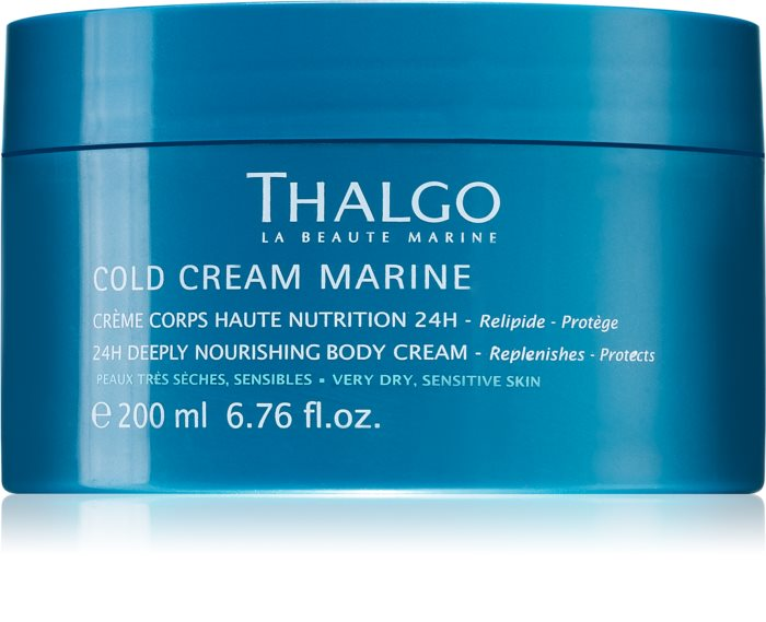 Крем Восстанавливающий питательный Cold Cream Marine Thalgo Франция 200 мл(р) — фото №1