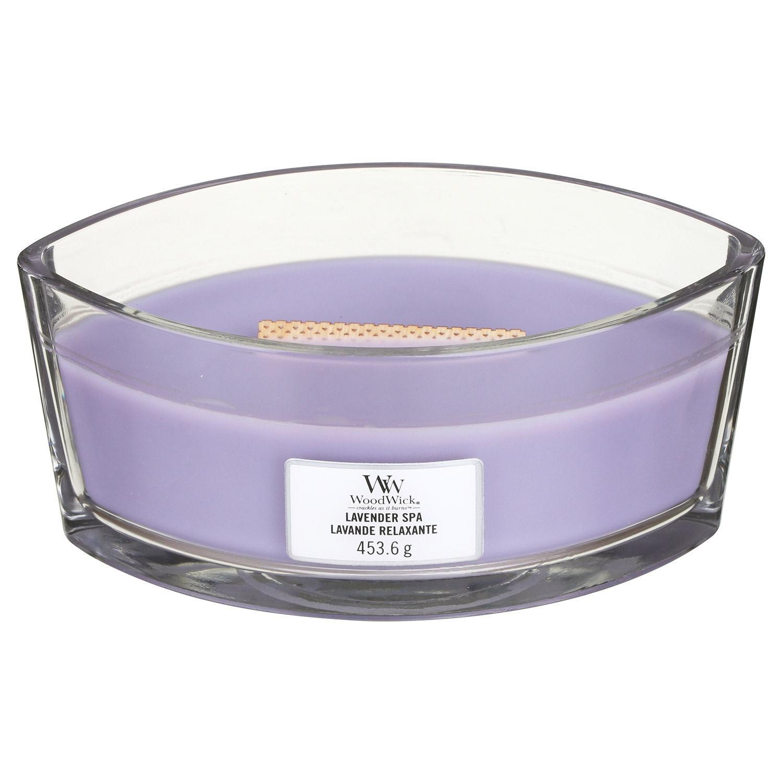 Свеча Ellipse Lavender s Cedar 453 гр Wood Wick Англия — фото №1