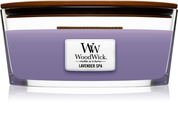 Свеча Large Lavender s Cedar Wood Wick Англия 609 гр(р) — фото №1