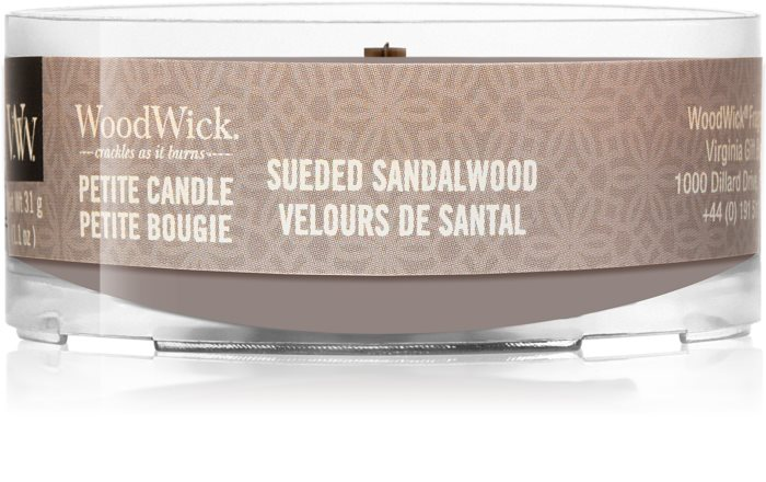 Свеча Sueded Sandalwoo Wood Wick Англия 31 гр(р) — фото №1