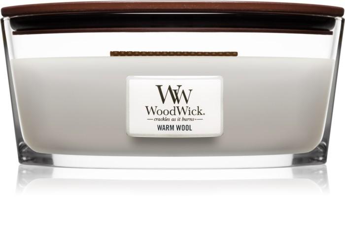 Свеча Ellipse Warm Wool 453 гр Wood Wick Англия — фото №1
