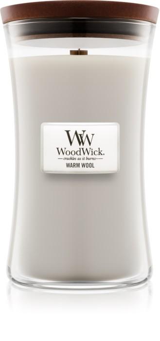Свеча Large Warm Wool Wood Wick Англия 609 г(р) — фото №1