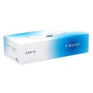 Премиальная ультрамягкие бумажные салфетки +water Япония 180 шт(р) — фото №1