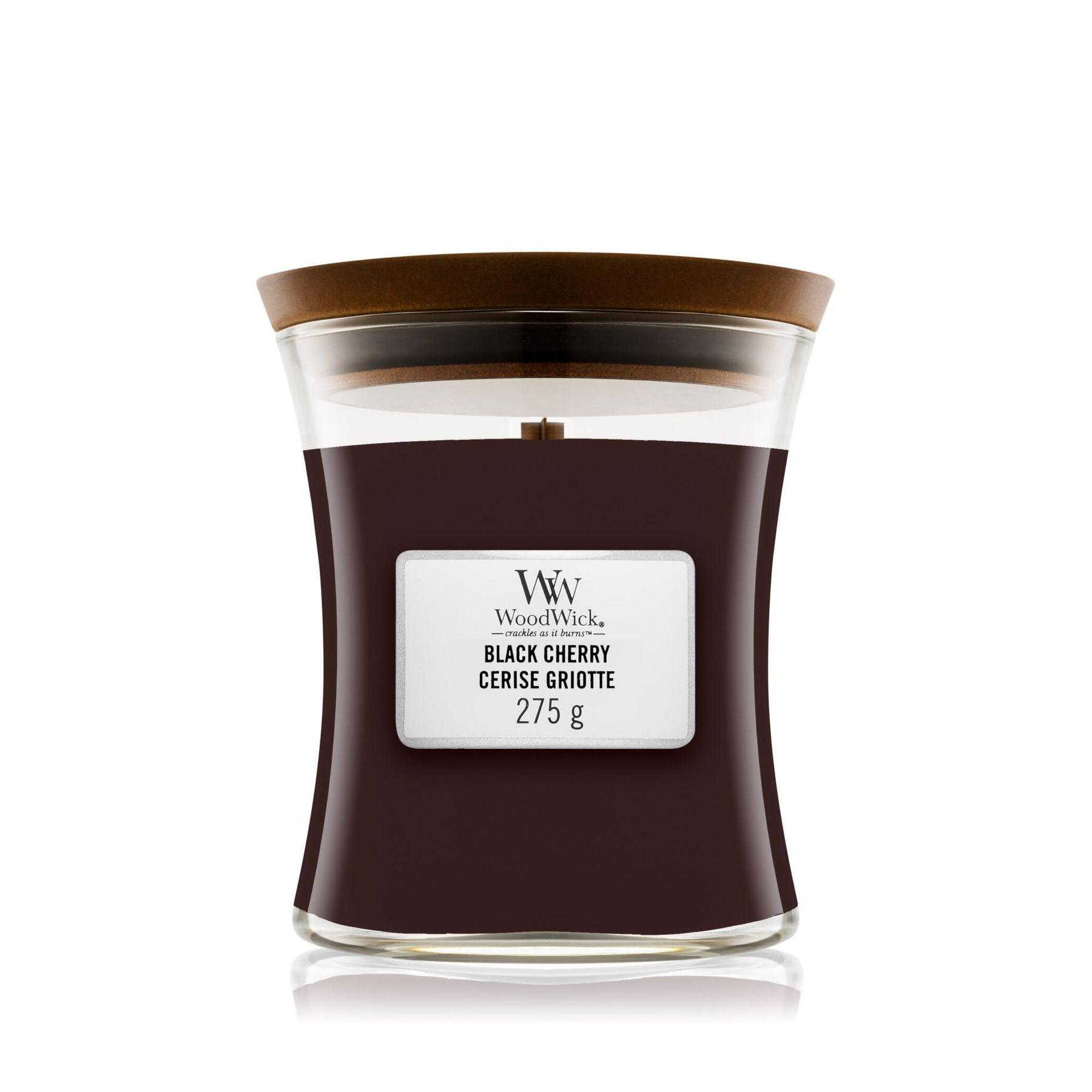 Свеча Medium Black Cherry Wood Wick Англия 275 г(р) — фото №1