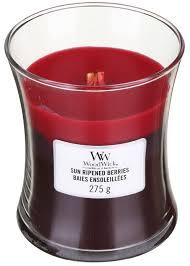 Свеча Medium Trilogy Sun Ripened Berries Wood Wick Англия 275 г(р) — фото №1