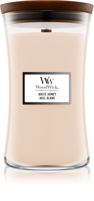 Свеча Ellipse White Honey Wood Wick Англия 453 г(р) — фото №1