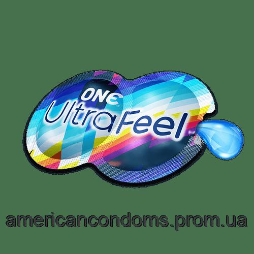 Презерватив UltraFeel с смазкой ONE Condoms USA 1 шт(р) — фото №1