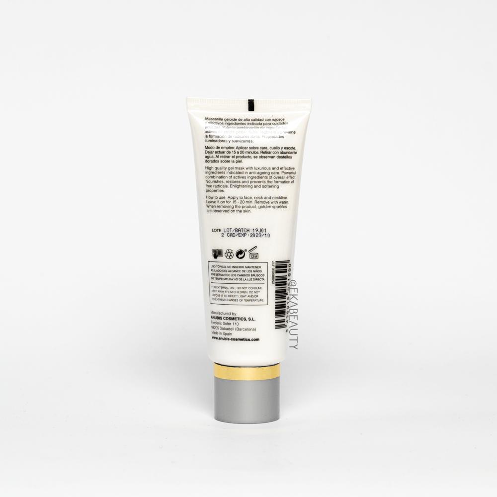 Маска Effectivity Gold Mask 50 мл ANUBIS Испания — фото №2