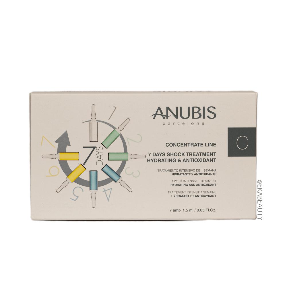 Ампулы 7 Days Shock Treatment-Anti-Aging s Lifting ANUBIS Испания — фото №1