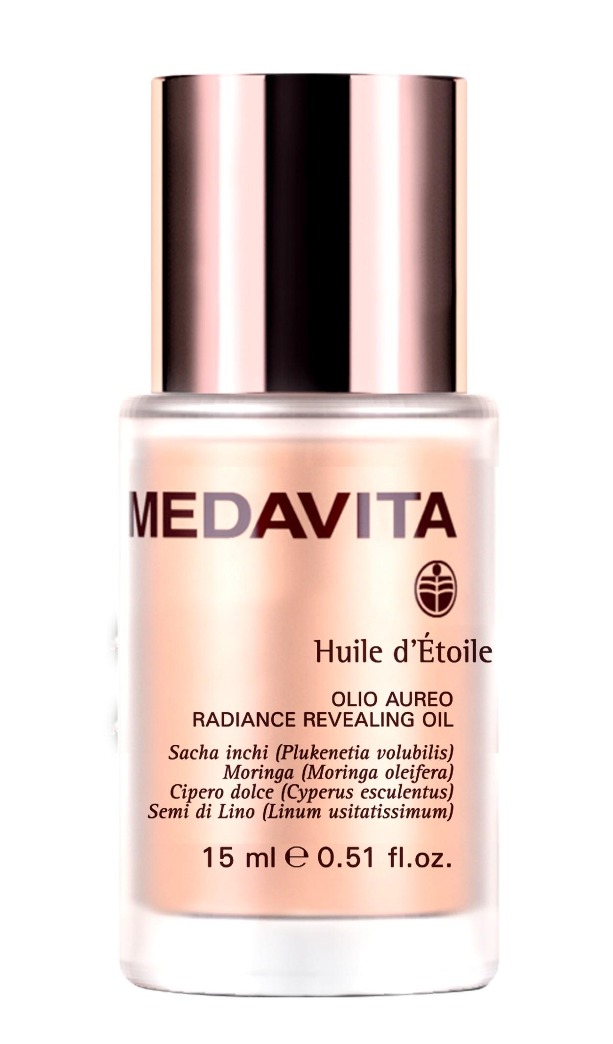 Антиоксидантное масло с эффектом шелка Huile d'Etoile Medavita Италия 50 мл(р) — фото №1