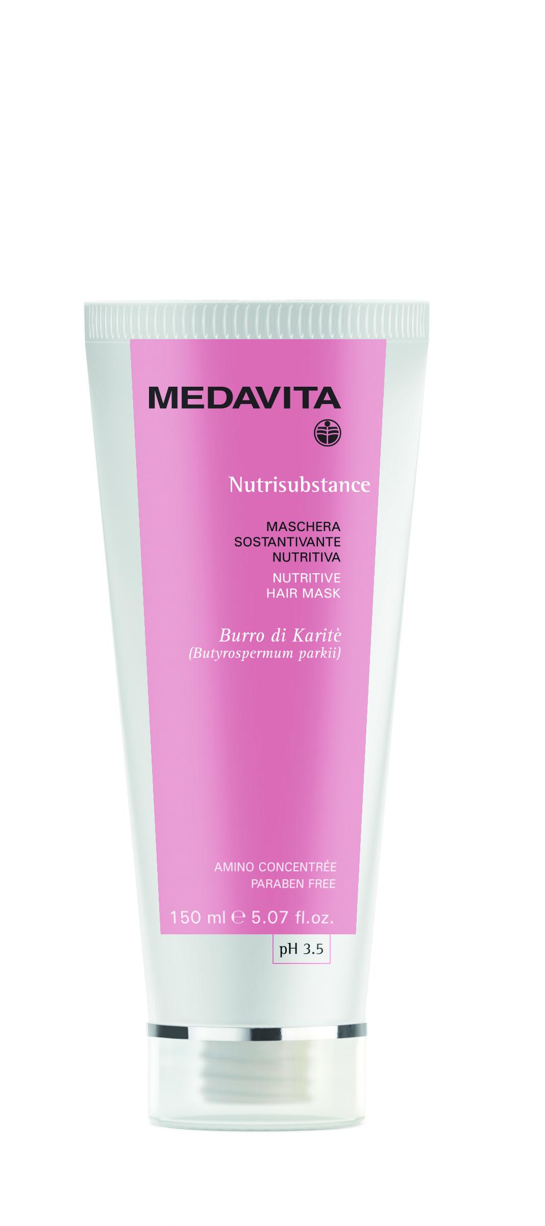 Маска Nutrisubstance ультрапитание для сухих волос Medavita Италия — фото №1