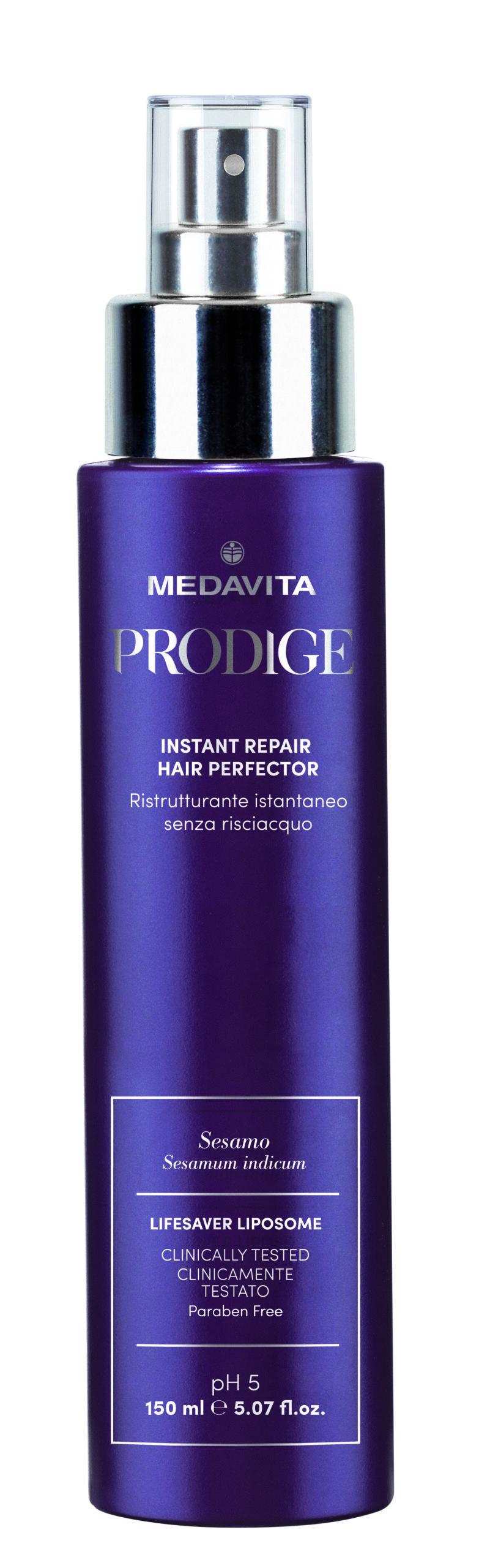 Сыворотка Prodige мгновенного действия для реконструкции волос Medavita Италия 150 мл(р) — фото №1