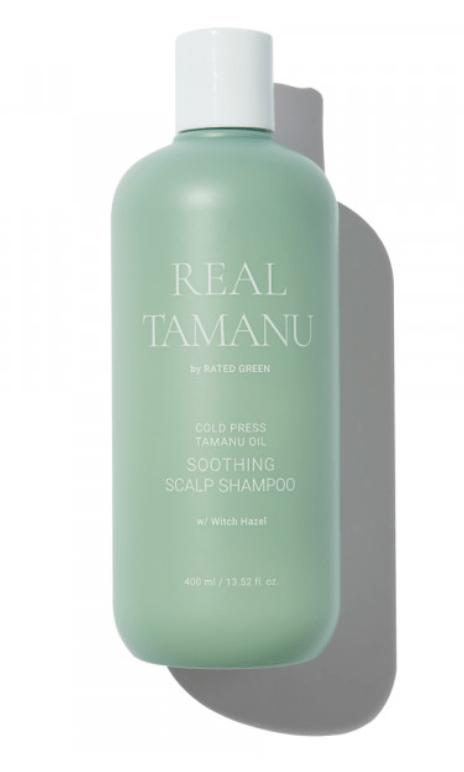 Шампунь уcпокаивающий Real Tamanu Rated Green Корея 400 мл(р) — фото №1