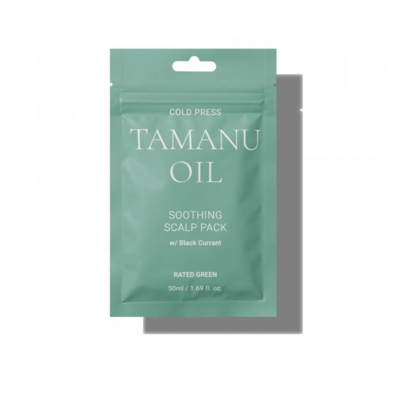 Маска успокаивающая Tamanu Oil Rated Green Корея 50 мл(р) — фото №1