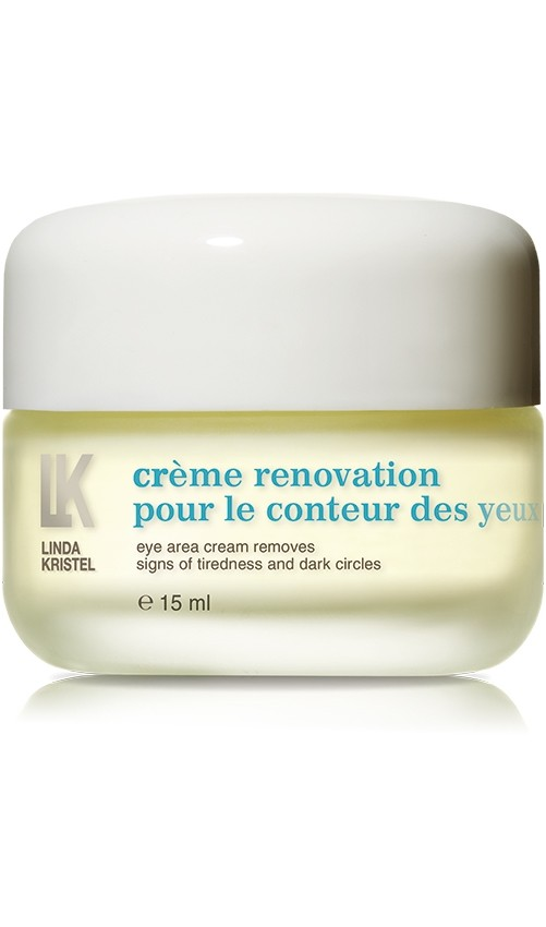 Крем Creme Renovation Pour Le Conteur Des Yeux Linda Kristel Италия 15 мл(р) — фото №1