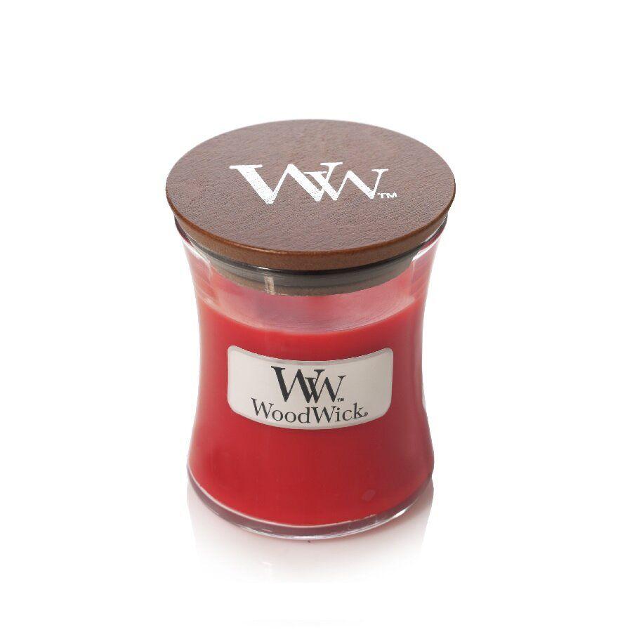 Свеча Mini Crimson Berries Wood Wick Англия 85 г(р) — фото №1