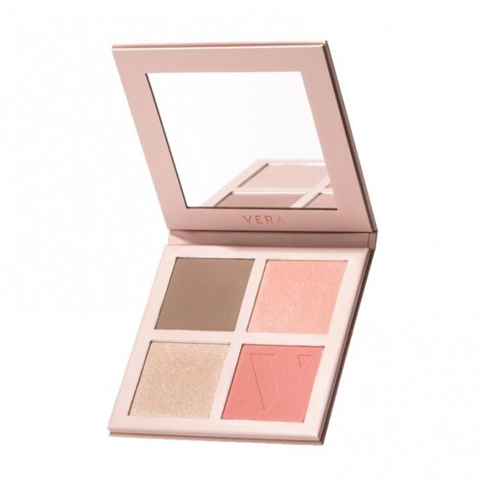 Палетка для макияжу 01 Sun Kiss VERA Италия 17.8 г(р) — фото №1