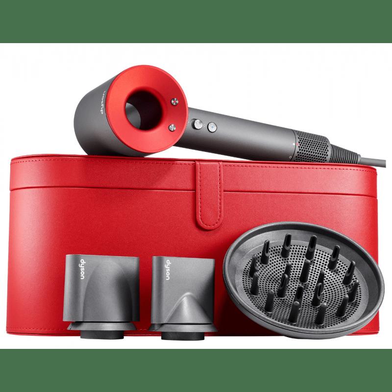 Фен Dyson Supersonic красный в красном чехле — фото №4
