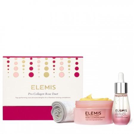 Набор Про-Коллаген Дуэт Роза Pro-Collagen Rose Duet Gift Set Elemis Англия — фото №1