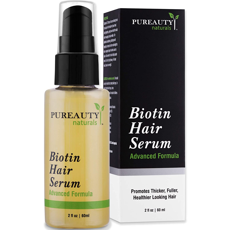 Сыворотка для волос Biotin Hair Serum Pureauty USA 60 мл(р) — фото №1