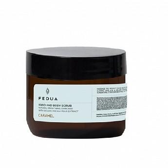 Скраб для тела Hand and Body Scrub Caramel Fedua Италия 250 мл(р) — фото №1