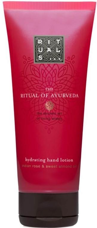 Ritual of Ayurveda Hydrating Hand Lotion Rituals Италия 70 мл(р) — фото №1