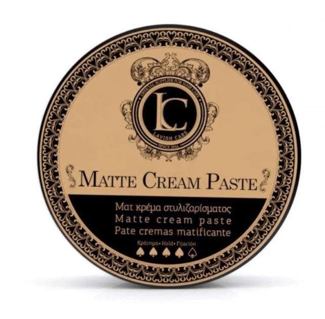 Matte Cream Paste Матовая паста для стайлинга волос сильной фиксации Lavish Care Греция — фото №1