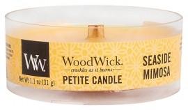 Свеча Petite Seaside Mimosa Wood Wick Англия 31 г(р) — фото №1