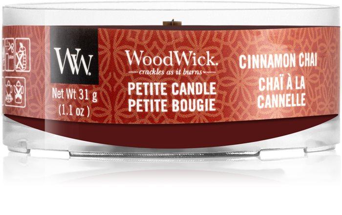 Свеча Petite Cinnamon Chai Wood Wick Англия 31 г(р) — фото №1