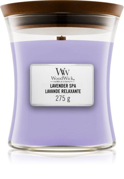 Свеча Medium Lavender Spa Wood Wick Англия 275 г(р) — фото №1