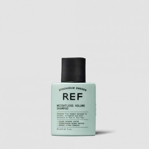 Шампунь для объема Weightless Volume Shampoo REF Швеция 60 мл(р) — фото №1