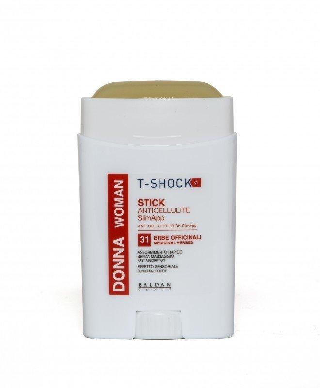 Антицеллюлитный Стик Stick Anticellulite SlimApp T-Shock Италия 75 мл(р) — фото №1