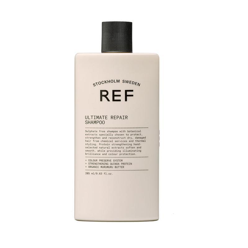 Шампунь восстанавливающий Ultimate Repair Shampoo REF Швеция 285 мл(р) — фото №1