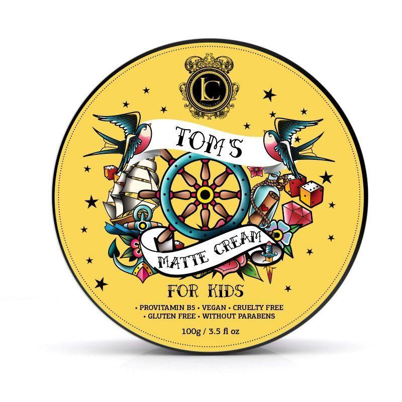 Паста детская матовая Tom's matte cream for kids Lavish Care Греция 100 г(р) — фото №1
